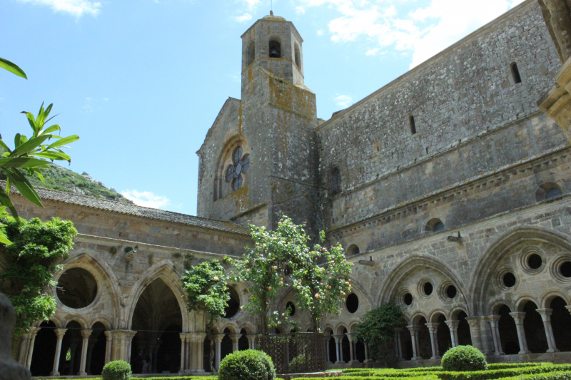 Ehem. Kloster Fontfroide bei Narbonne