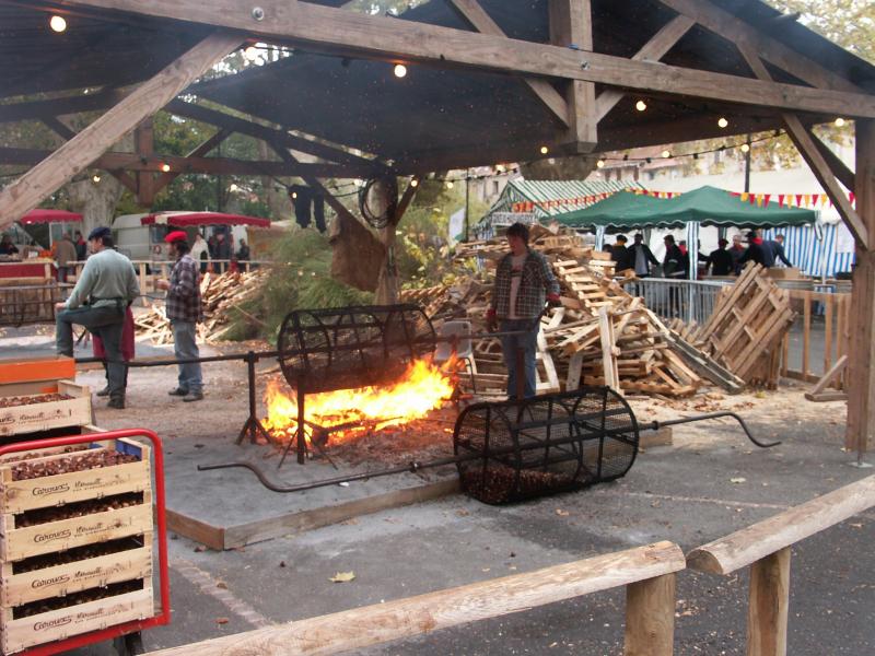 Kastanienfest in Saint Pons de Thomieres