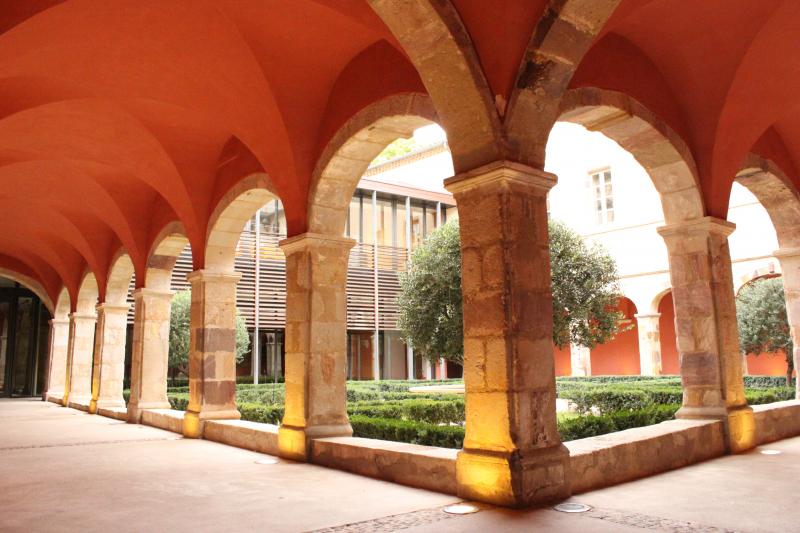 Kreuzgang der ehemaligen Abtei