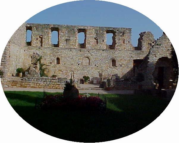 Fontcaude courtyard