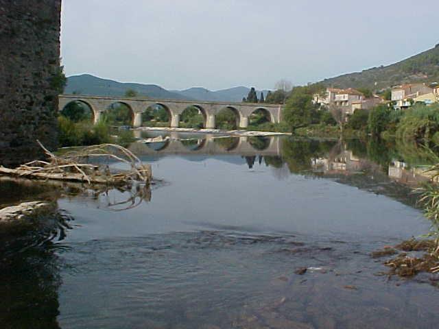 Roquebrun bridge