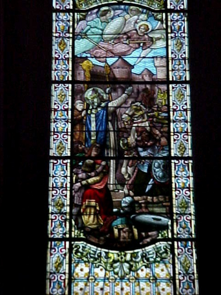 St Chinian - stained glass window