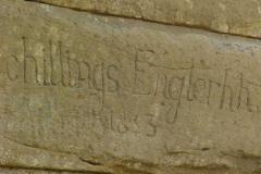 signature in stone