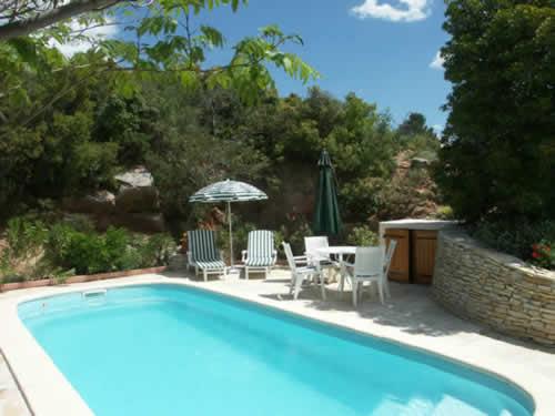 Ferienvilla Arbousier mit pool